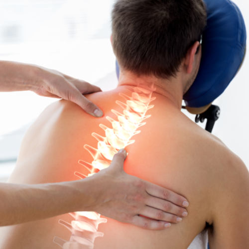 Physiotherapy chest and back treatments