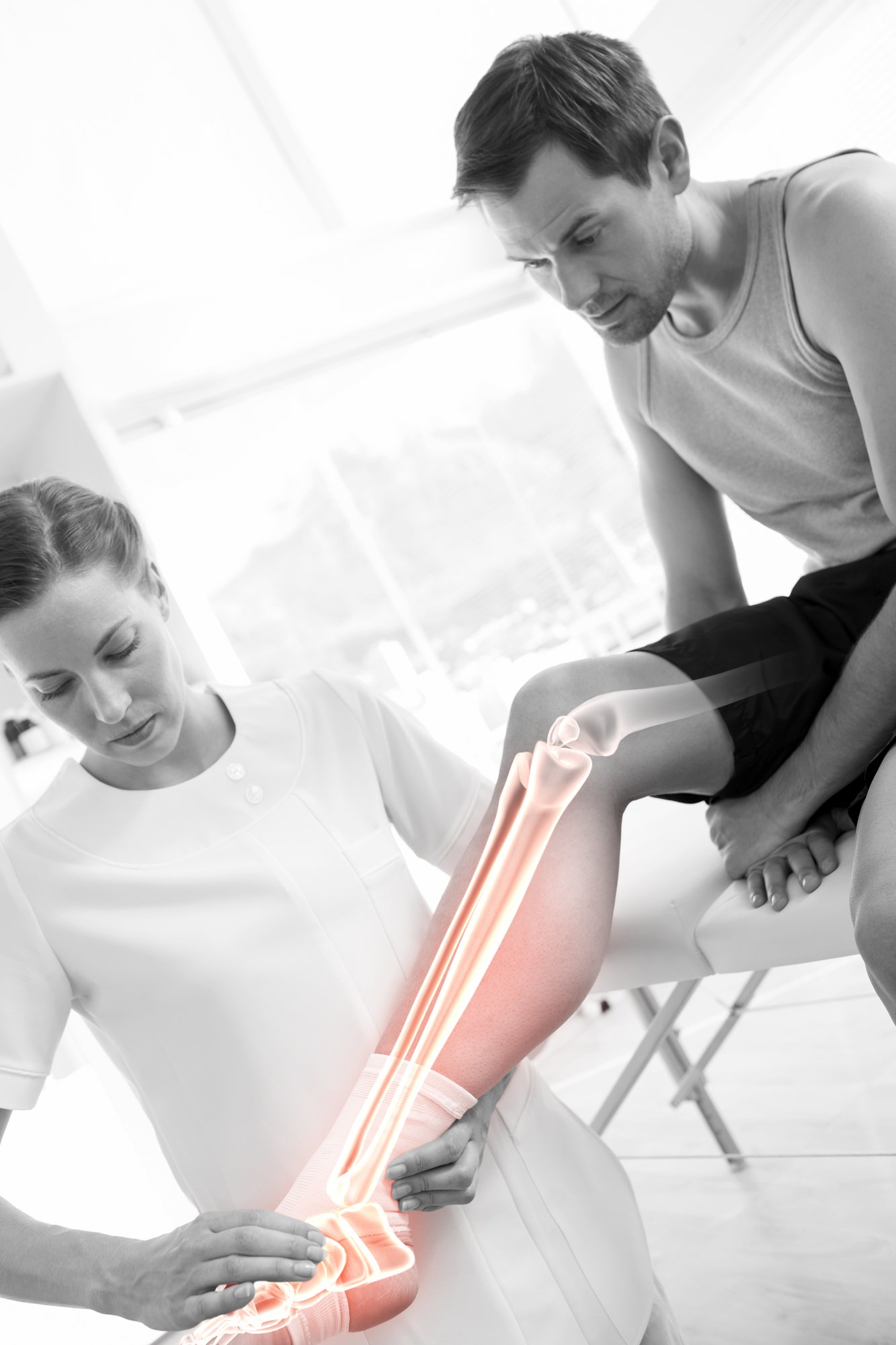 Physiotherapy treatment and recovery